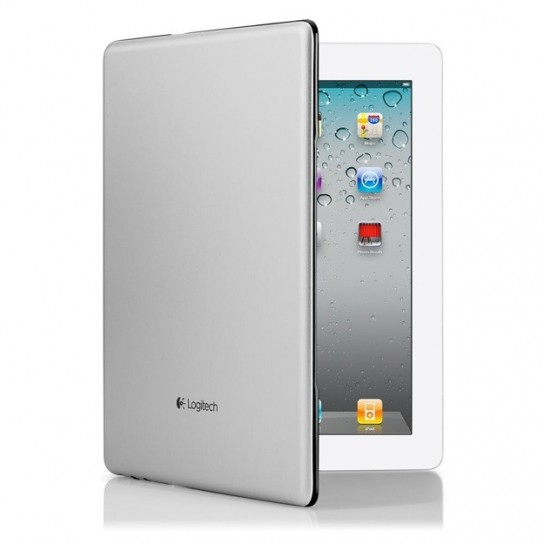 Logitech Ultrathin Keyboard Cover per iPad - Socchiusa