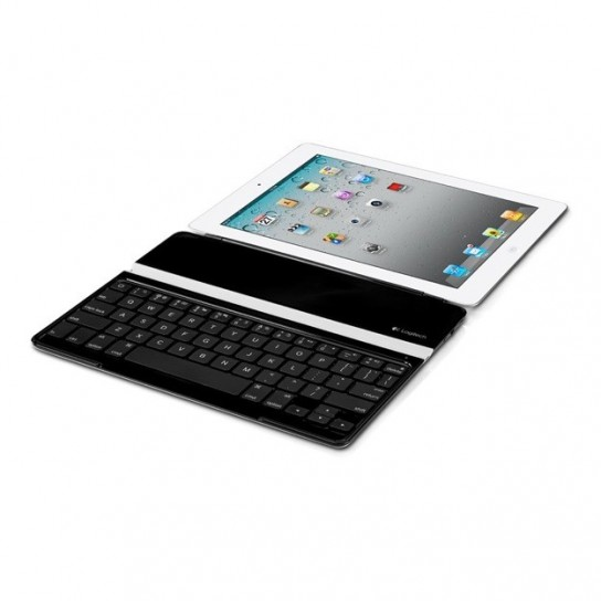 Logitech Ultrathin Keyboard Cover per iPad - Con iPad