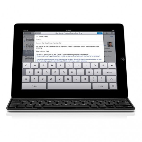 Logitech Ultrathin Keyboard Cover per iPad - Come un laptop