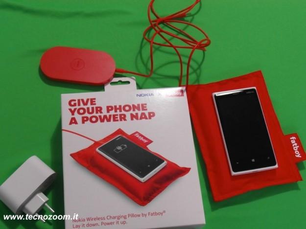 Nokia Lumia 920 confezione cuscino