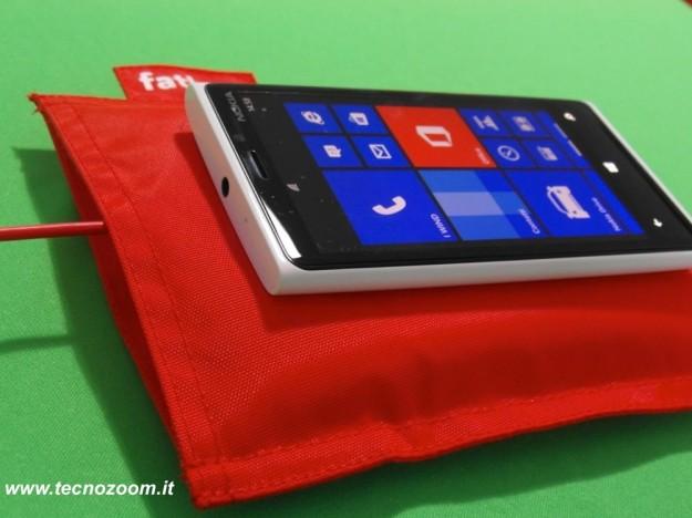 Nokia Lumia 920 cuscino caricabatterie