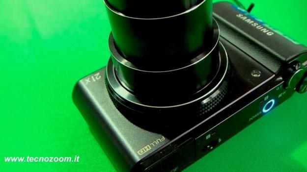 Samsung WB850F attacco lenti