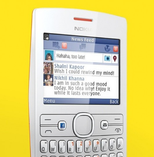 Nokia Asha 205 - Facebook phone