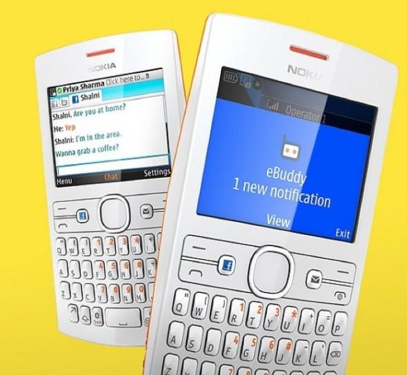 Nokia Asha 205 - Coppia
