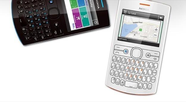 Nokia Asha 205 - Bianco e nero