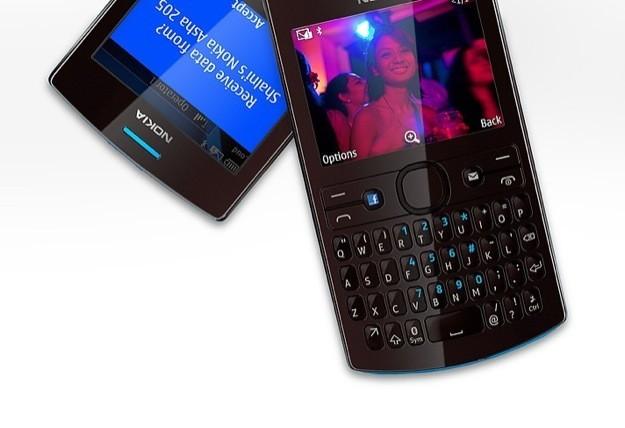 Nokia Asha 205 - Tastiera QWERTY