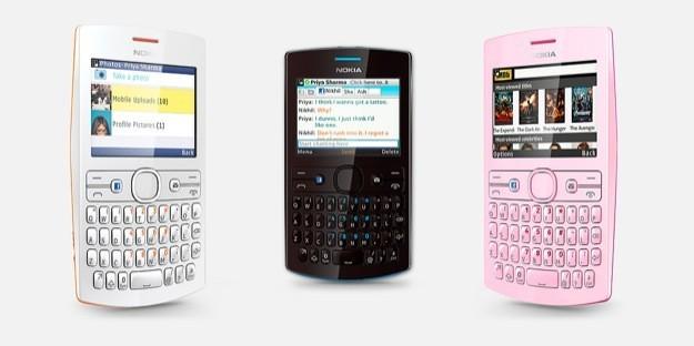 Nokia Asha 205 - Trio