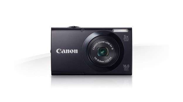 Canon PowerShot A3400 IS - Fronte nera