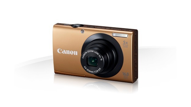 Canon PowerShot A3400 IS - Oro