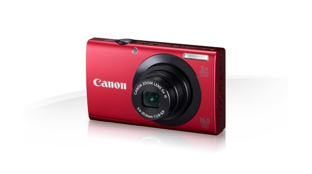 Canon PowerShot A3400 IS - Rossa