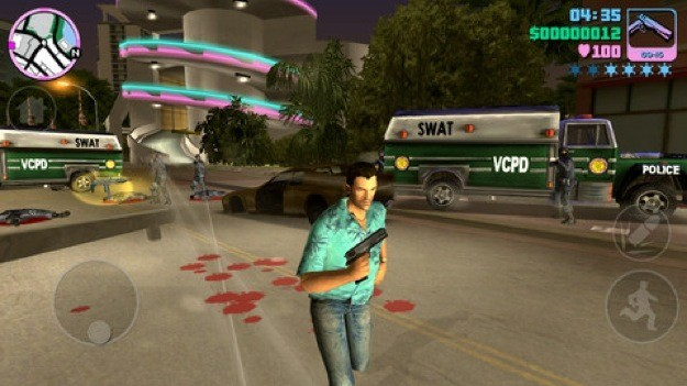 GTA Vice City mobile - Controverso