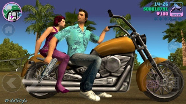 GTA Vice City mobile - Mezzi di trasporto