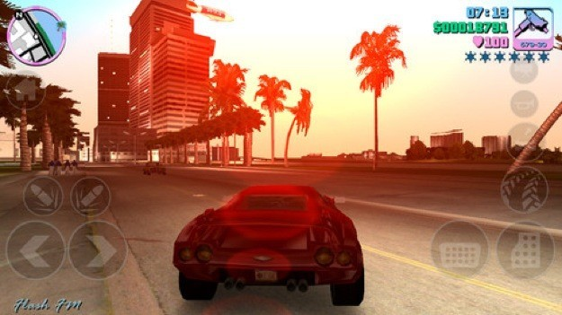GTA Vice City mobile - Auto da corsa