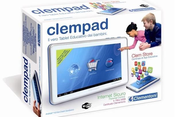 Clementoni tablet scatola