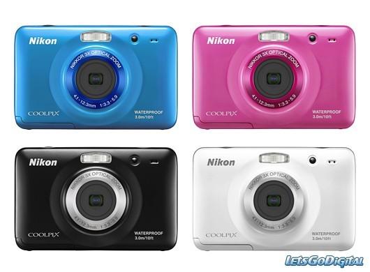 Nikon Coolpix S30 colori