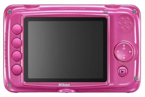 Nikon Coolpix S30 rosa retro