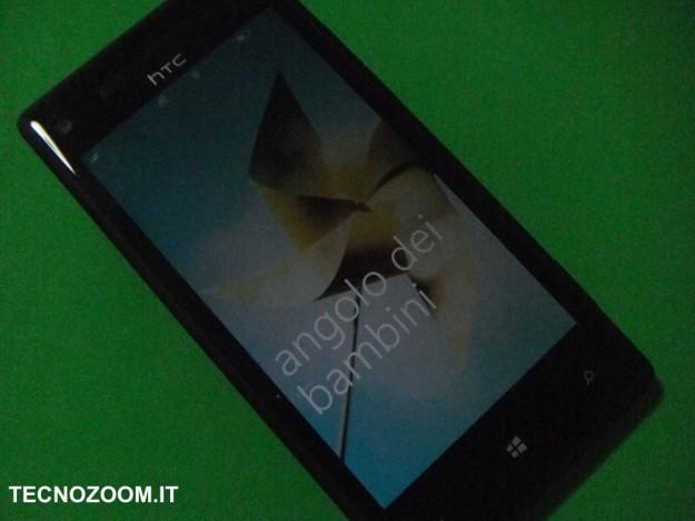 HTC 8X angolo dei bambini