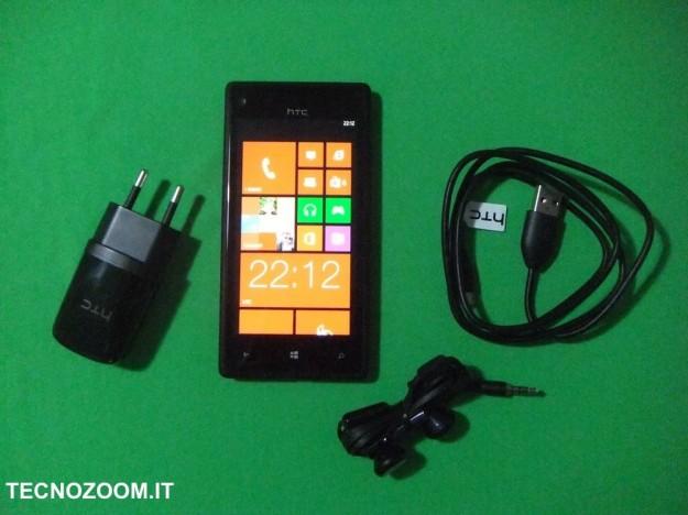 HTC 8X confezione d'acquisto