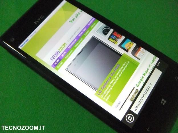 HTC 8X tecnozoom