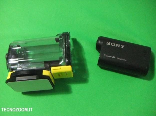 Sony AS15 e custodia