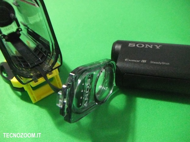 Sony AS15 ingresso camcorder