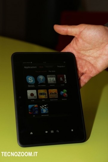 Amazon Kindle Fire HD apps