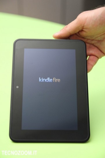 Amazon Kindle Fire HD avvio