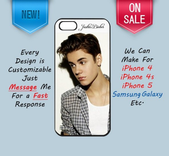 Cover iPhone 5 Justin Bieber