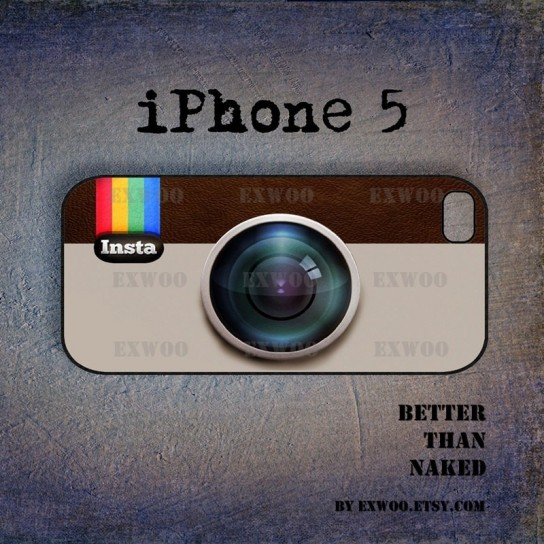Cover iPhone 5 Instagram