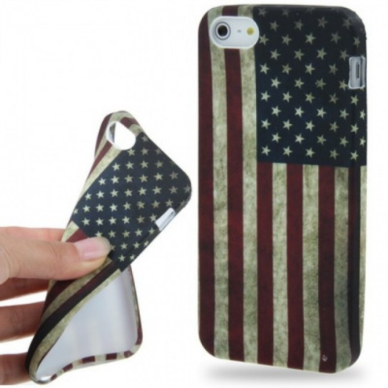 Cover iPhone 5 bandiera americana