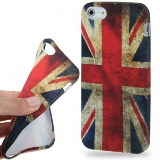 Cover iPhone 5 bandiera inglese