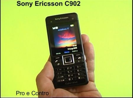Prova Sony Ericsson Cybershot C902