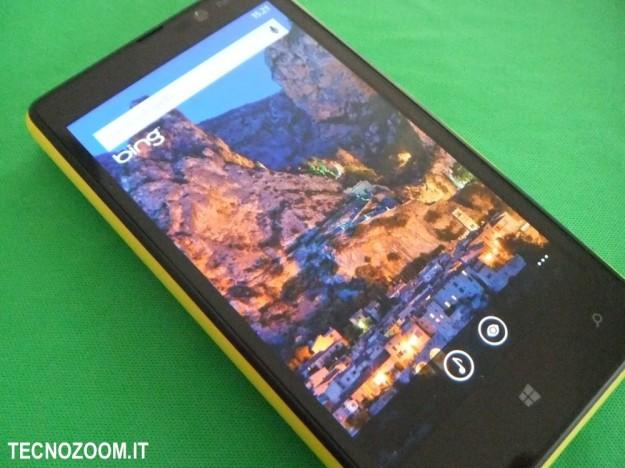 Nokia Lumia 820 Bing