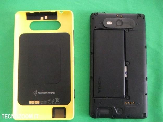Nokia Lumia 820 cover e batteria
