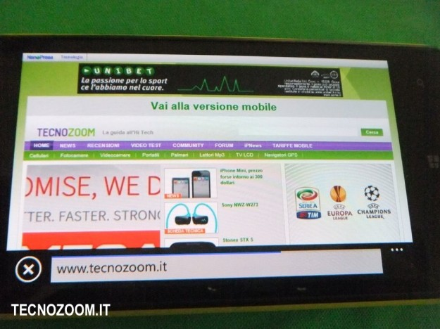 Nokia Lumia 820 Tecnozoom