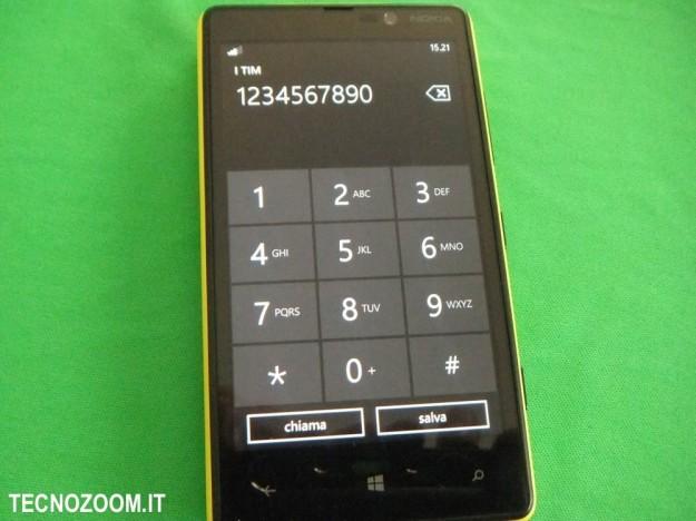 Nokia Lumia 820 telefono