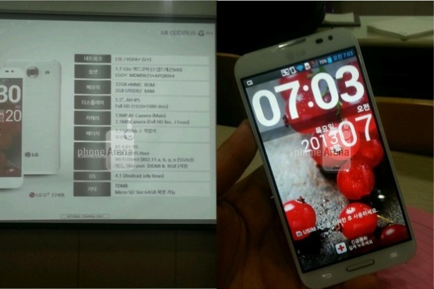 LG Optimus G Pro: in Italia dall&#8217;estate, le caratteristiche [FOTO]