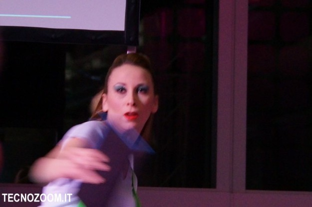 Microsoft Surface ballerina presentazione