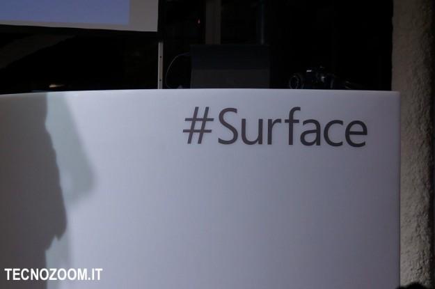 Microsoft Surface hashtag