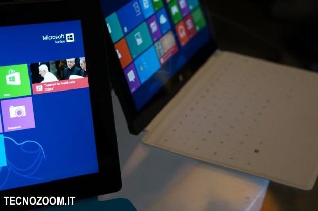 Microsoft Surface RT presentazione