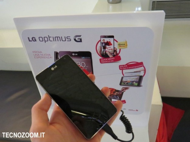 LG Optimus G hands-on