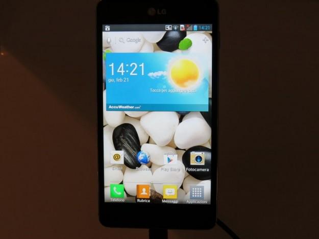 LG Optimus G interfaccia