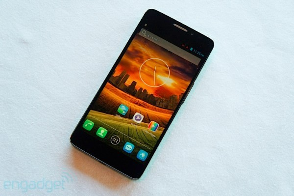 Alcatel One Touch Idol X homescreen