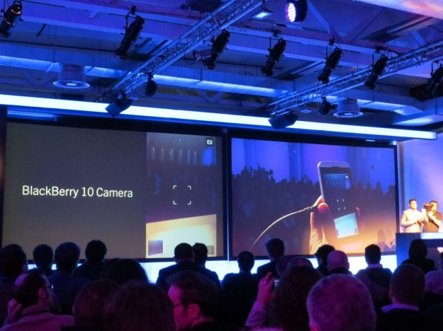 Blackberry 10 Camera