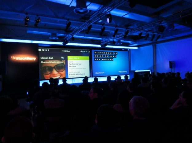 Blackberry 10 evento milano