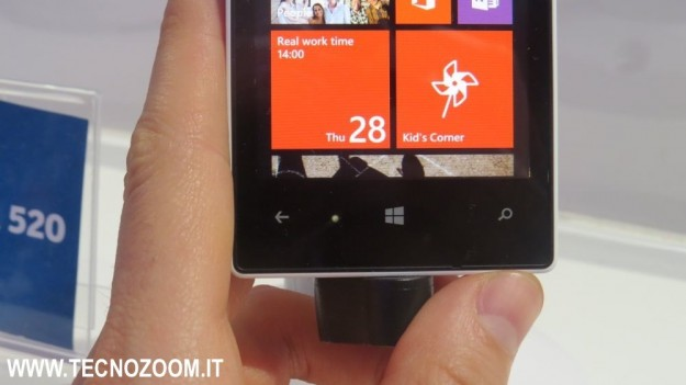 Nokia Lumia 520 pulsanti
