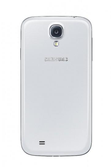 Samsung Galaxy S4 bianco visto dal retro