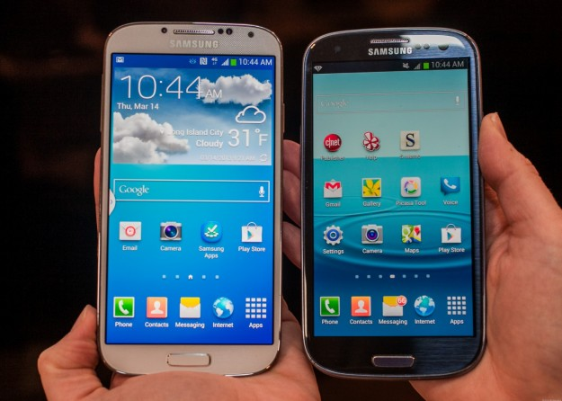 Samsung Galaxy S4 vs S3
