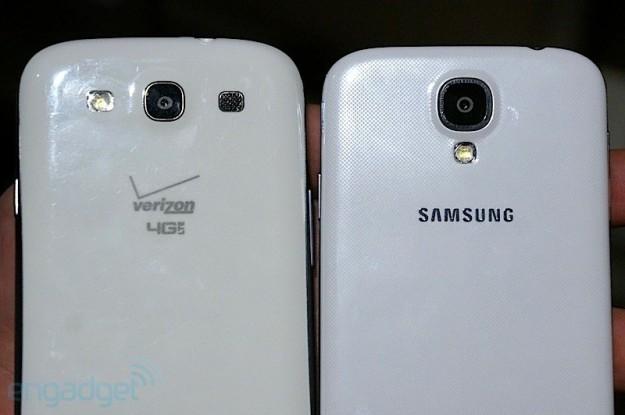 Fotocamera Samsung Galaxy S3 e Samsung Galaxy S4