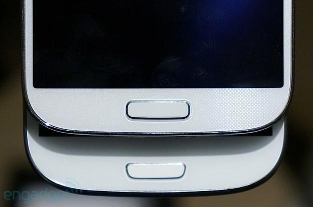 Pulsante home di Samsung Galaxy S4 e Samsung Galaxy S3